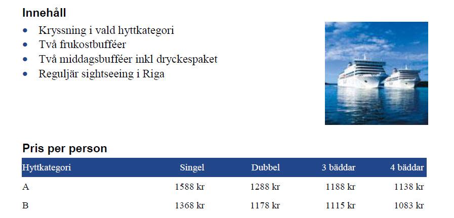 Pris Tallink